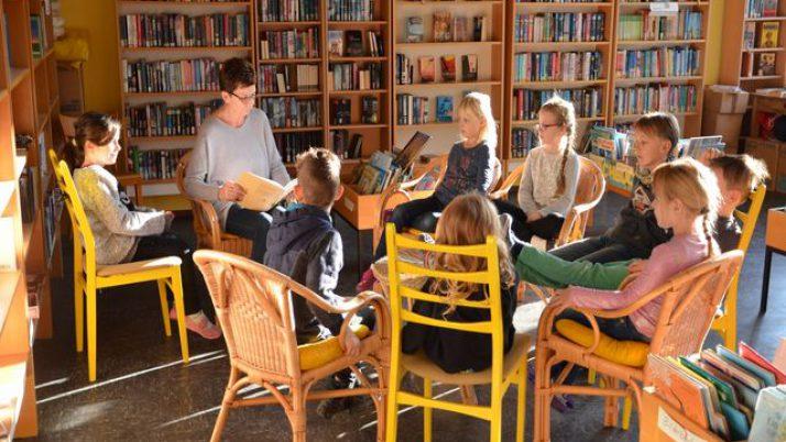 Vorlesetag an der Nils-Holgersson-Grundschule Wischhafen