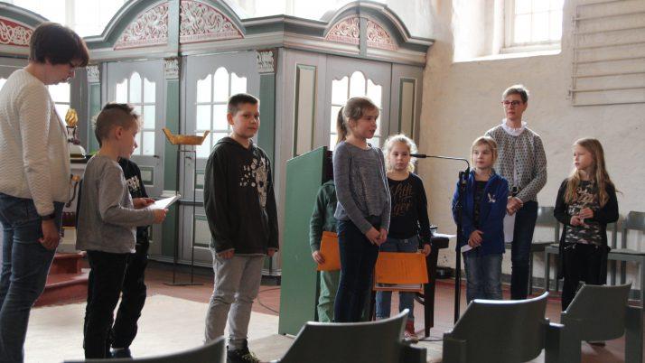 Mitmach-Gottesdienst der Grundschule